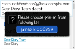 Gear Diary Review:  PlanOn Printstik Bluetooth Printer for BlackBerry photo