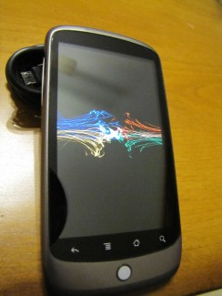 Gear Diary Nexus One First Impressions photo