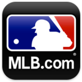 MLB At Bat logo