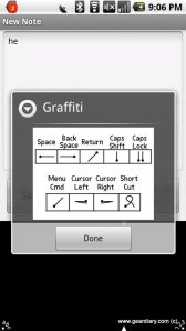 Gear Diary Graffiti One Comes to Android!  photo