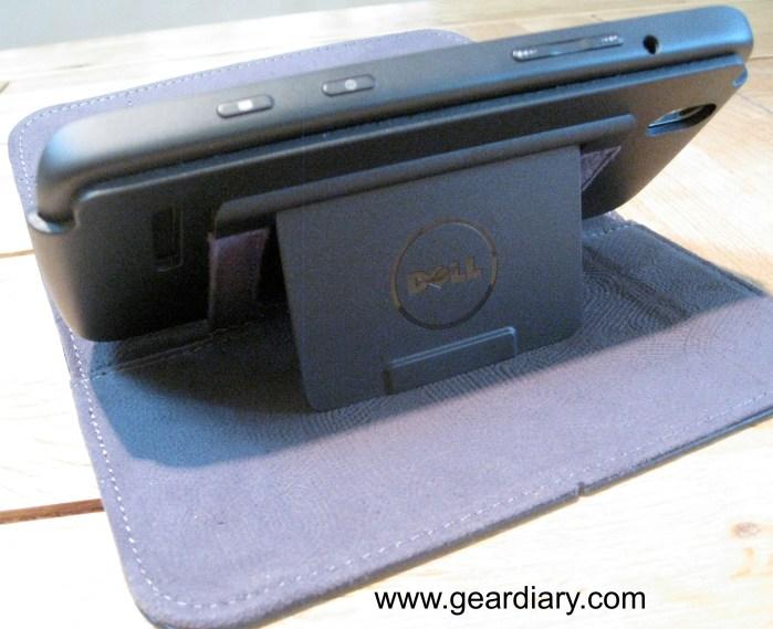 Dell Leather Streak Case kickstand
