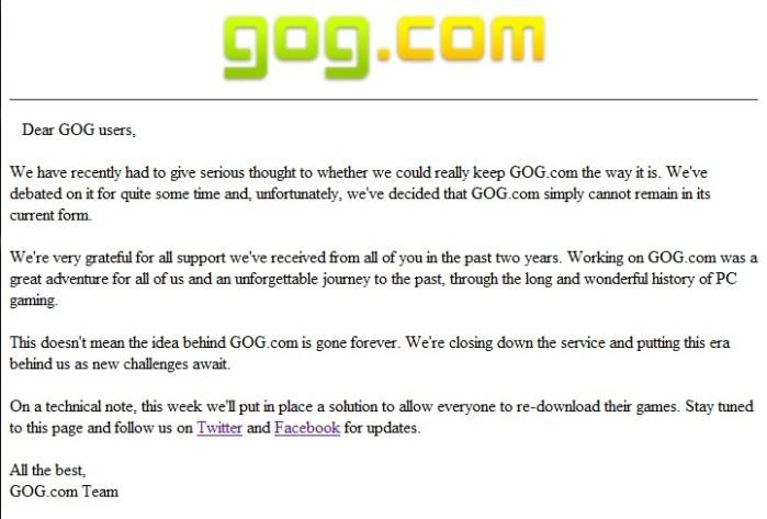 GoGCloses