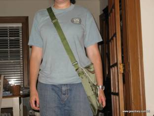 Gear Diary Review: GreenSmart Puku Messenger Bag photo