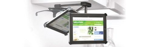 Gear Diary Griffin Cabinet Mount for iPad Prevents Kitchen Accidents  photo