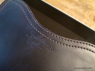Gear Diary iPad Accessory Review: Saddleback Leather Company iPad Sleeve / Large Gadget Pouch photo