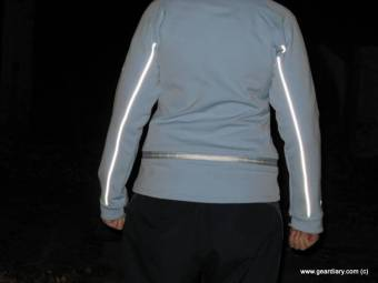 Gear Diary Bright Night StrideLight Lighted Jacket Review photo