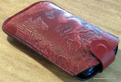Gear Diary Mobile Phone Accessory Review: the Oberon Design Cell Phone Sleeve photo
