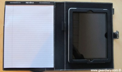 Gear Diary iPad Accessory Review: Revenas ELEMENTS EXECUTIVE FOLIO Plus photo