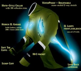 lighted jacket