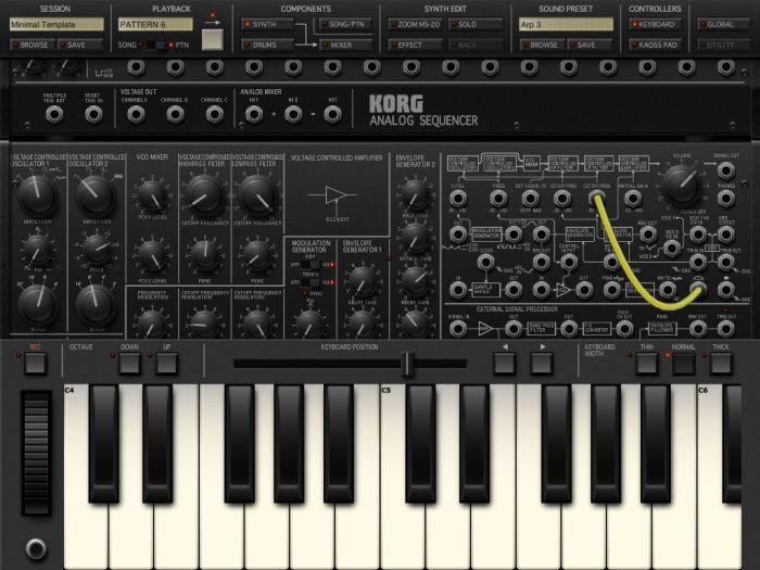 Korg iMS-205