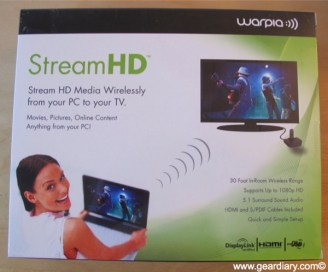 Gear Diary Review: Warpia StreamHD Streams Video from Your PC to the Big(ger) Screen photo