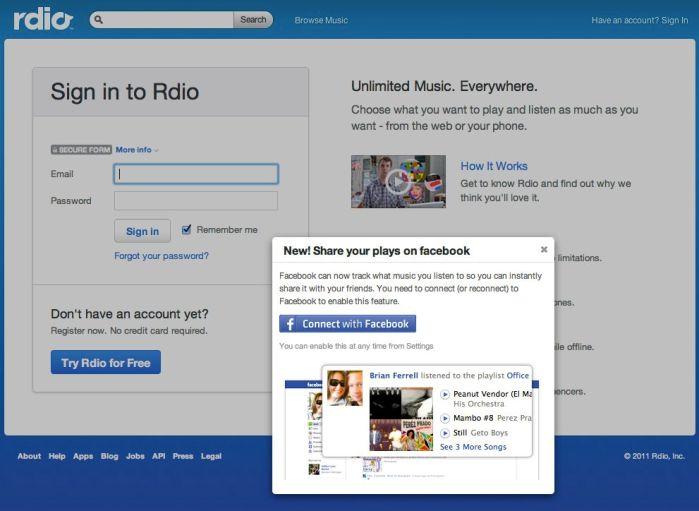 Facebook Music2