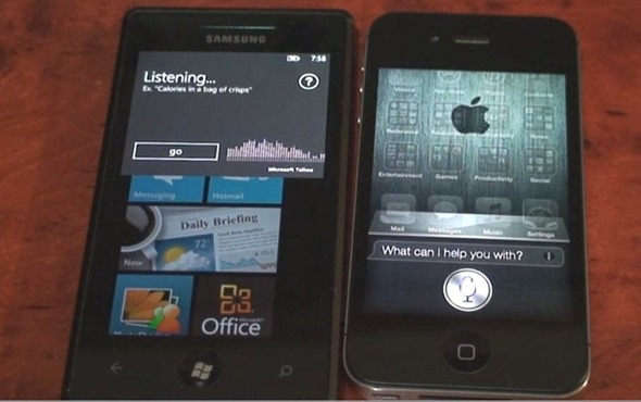 Microsoft-Tellme-vs-Apple-Siri