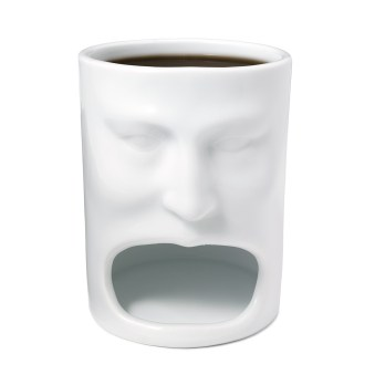Gear Diary Uncommon Goods Face Mug Is Truly One of the Coolest Mugs Ever! photo