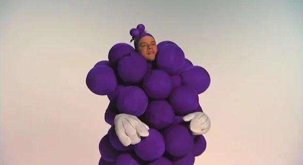 Matt Damon Grapes