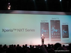 Gear Diary Pictures and Video from the Sony Press Conference on the Xperia Line of Smartphones photo