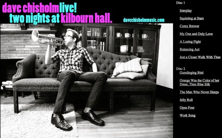 Dave Chisholm Live