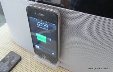 Gear Diary Gear4 AirZone Series 1 AirPlay Speaker Dock Review photo