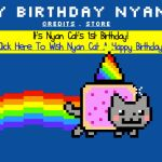 Nyan Cat Birthday