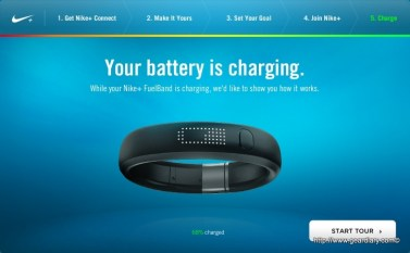 Fuelband - Charge
