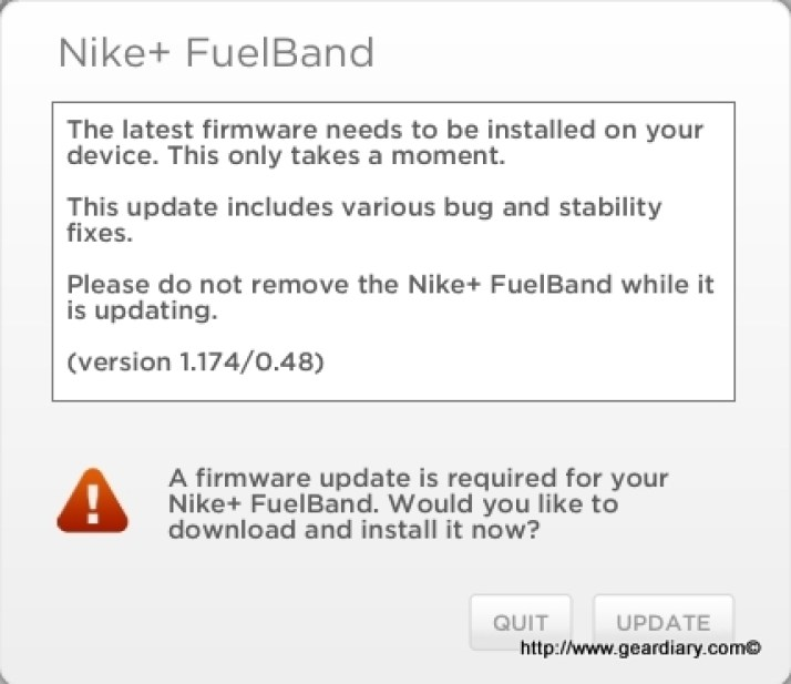 Fuelband - Firmware