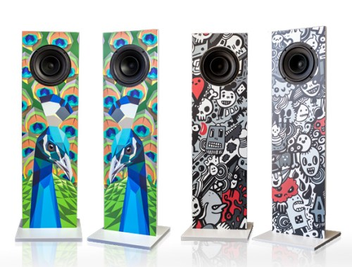 Urban Fidelity Art Speakers