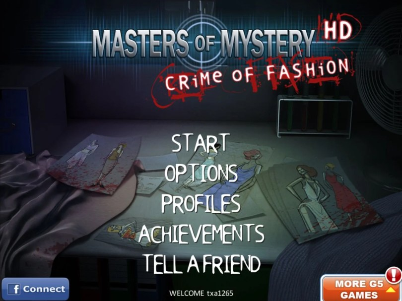 Masters of Mystery Crime of Fashion HD 1