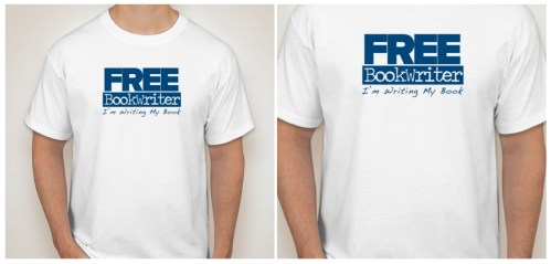 FreeBookWriterTshirts