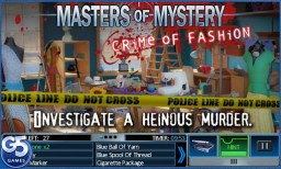 Masters of Mystery Crime of Fashion 1