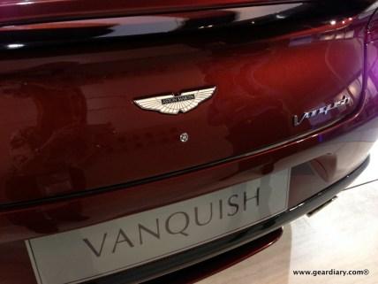 The Aston Martin Vanquish