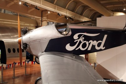And while this is the Ford Museum it houses more than automobiles.