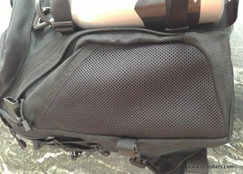 Side external pocket