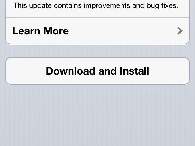 iOS 6.1 Update