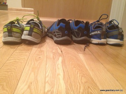 L to R: Road Glove 2, Proterra Sport, Bare Access 2
