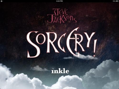 Steve Jackson's Sorcery! for iPad