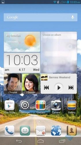 Huawei's Android skin: Emotion UI