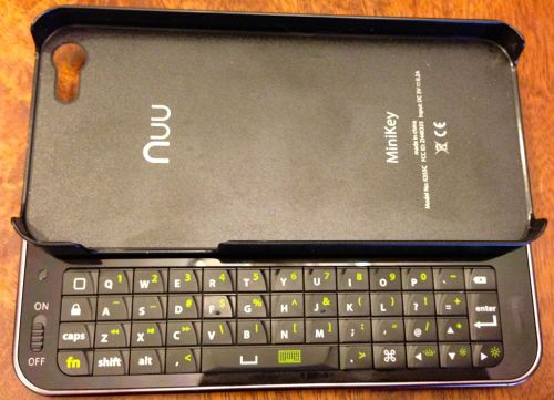 Nuu MiniKey for iPhone 52