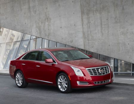 2013 Cadillac XTS AWD Images courtesy Cadillac