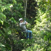 Zipline in Jamaica  -056