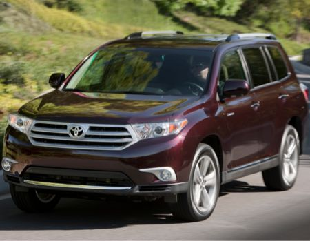 2013 Toyota Highlander Limited 4WD
