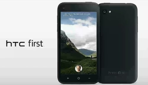 The HTC First Facebook Phone Comes Up Last