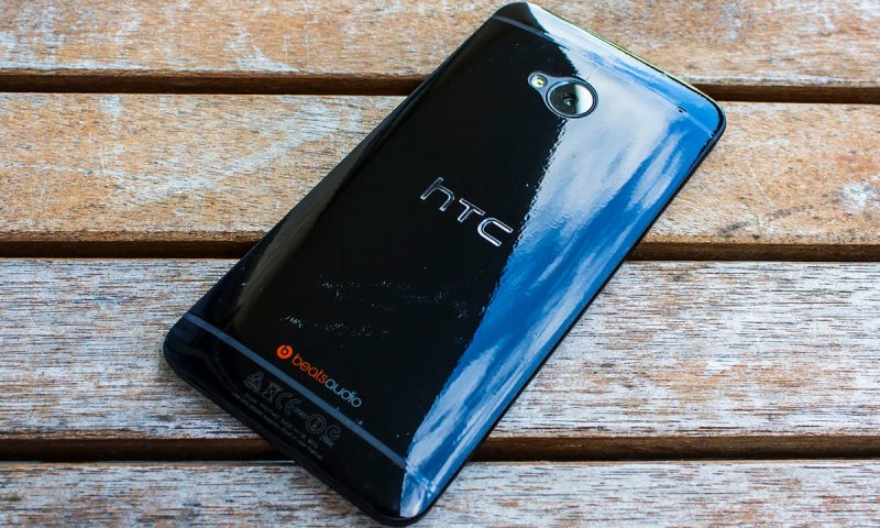 ZAGG invisibleSHIELD on the black HTC One