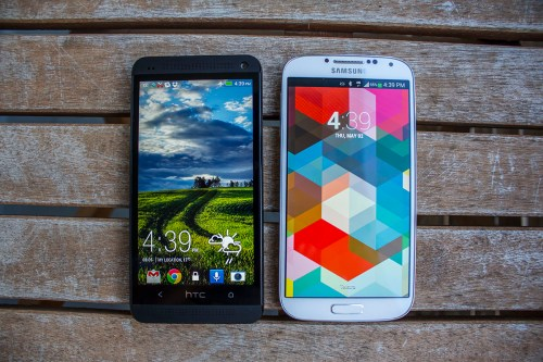Samsung Galaxy S 4 vs. HTC One: 1080p is the new standard, and it's good.