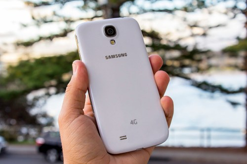The Galaxy S 4 packs a 13 megapixel camera with LED flash.