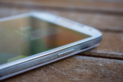The Galaxy S 4 retains the all-plastic construction of its predecessor