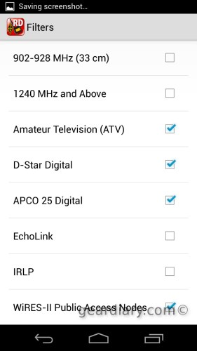 The ARRL Repeater Directory for Android Review