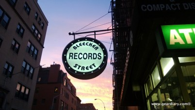 If you are in NYC and you like vinyl, then you must visit Bleecker Street Records