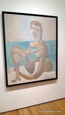 The first Picasso we ran into