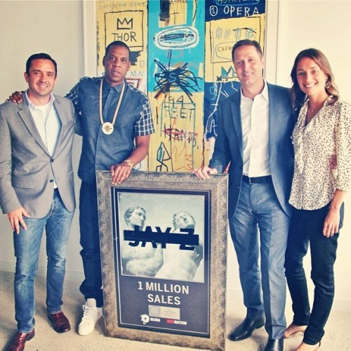 Jay Z's 'Magna Carta Holy Grail' Declared Platinum Already