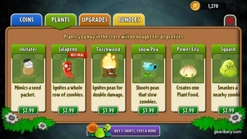 Plants vs Zombies Gear Diary (4)